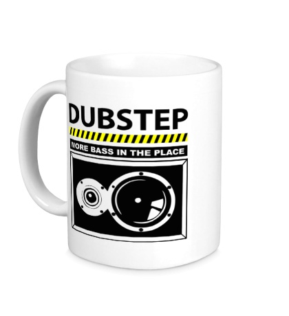 Керамическая кружка Dubstep More Bass