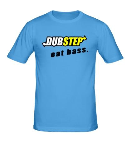 Мужская футболка Dubstep Eat Bass
