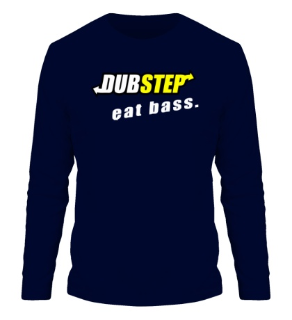 Мужской лонгслив Dubstep Eat Bass