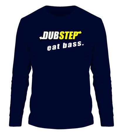 Мужской лонгслив Dubstep Eat Bass