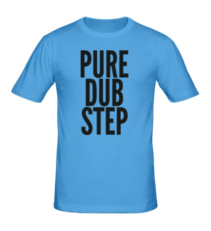 Мужская футболка «Pure dubstep»