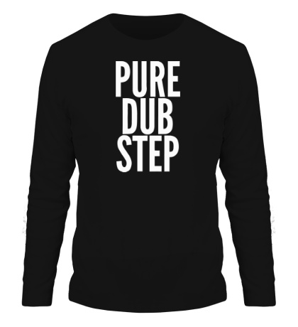 Мужской лонгслив Pure dubstep