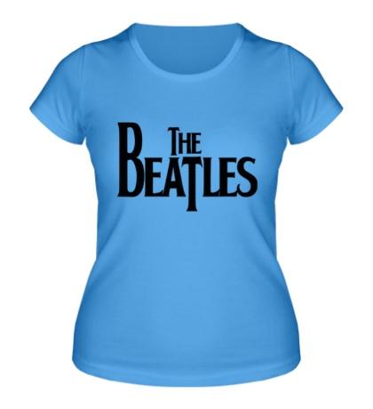 Женская футболка The Beatles Logo
