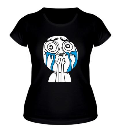 Женская футболка Милый парень