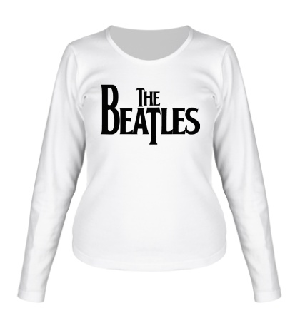 Женский лонгслив The Beatles Logo