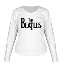 Женский лонгслив The Beatles Logo