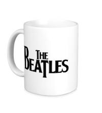 Керамическая кружка The Beatles Logo