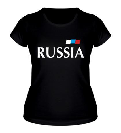 Женская футболка Сборная России по футболу