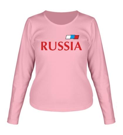 Женский лонгслив Сборная России по футболу