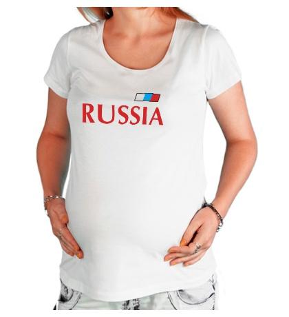 Футболка для беременной Сборная России по футболу