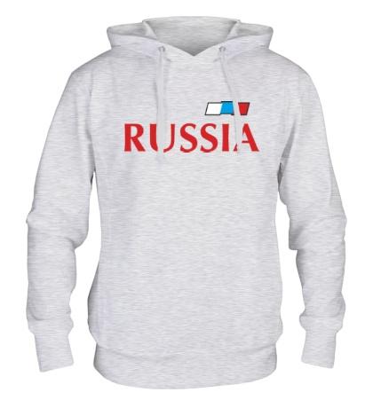 Толстовка с капюшоном Сборная России по футболу