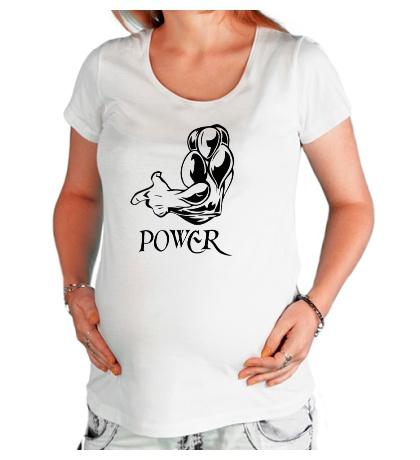 Футболка для беременной Max Power