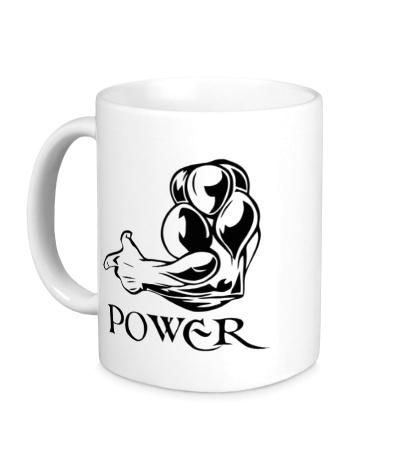 Керамическая кружка Max Power