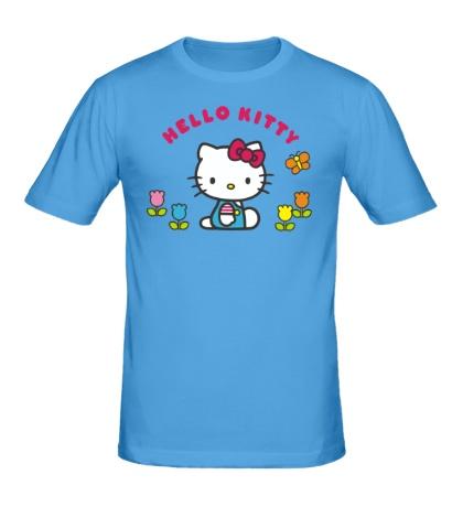 Мужская футболка Small Kitty
