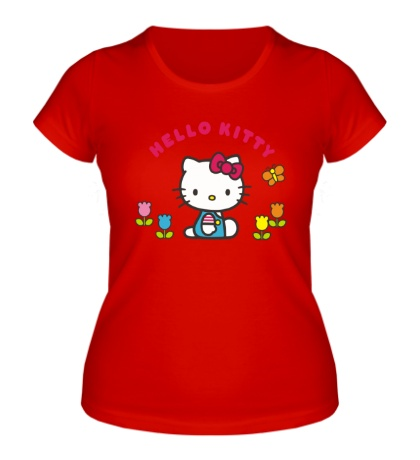Женская футболка Small Kitty