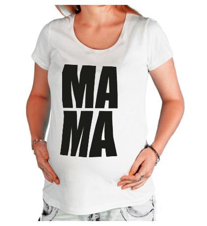 Футболка для беременной Ма-ма