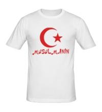 Мужская футболка Musulmanin