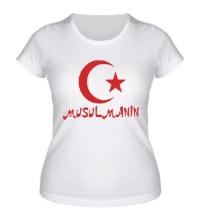 Женская футболка Musulmanin