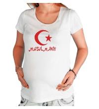 Футболка для беременной Musulmanin