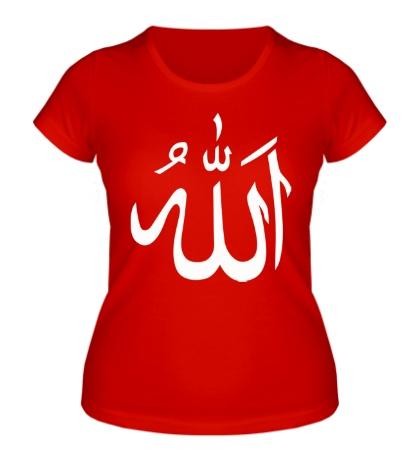 Женская футболка Ислам: символ