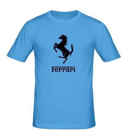 Мужская футболка Ferrari Logo