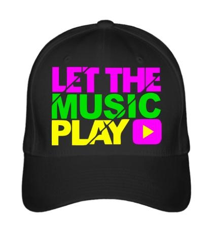 Бейсболка Let the music play