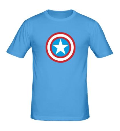 Мужская футболка Капитан Америка