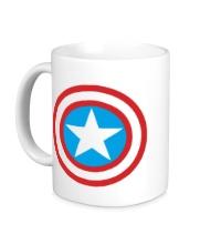 Керамическая кружка Капитан Америка