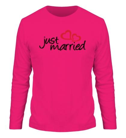 Мужской лонгслив Hot Just Married