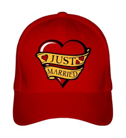 Бейсболка Just Married