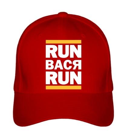Бейсболка Run Вася Run