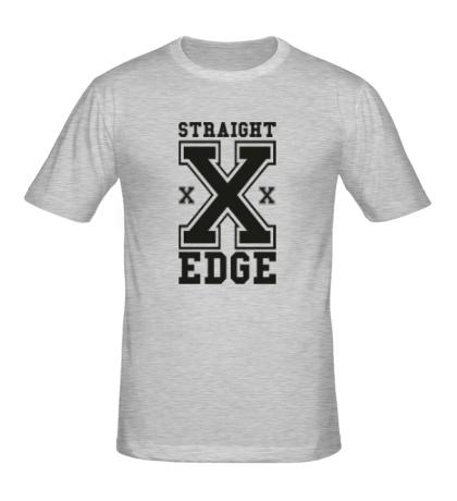 Мужская футболка Straight Edge