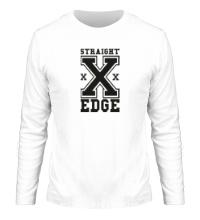 Мужской лонгслив Straight Edge