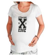 Футболка для беременной Straight Edge