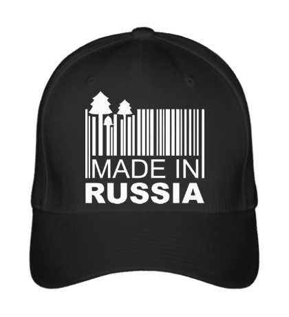 Бейсболка Made in Russia: Barcode