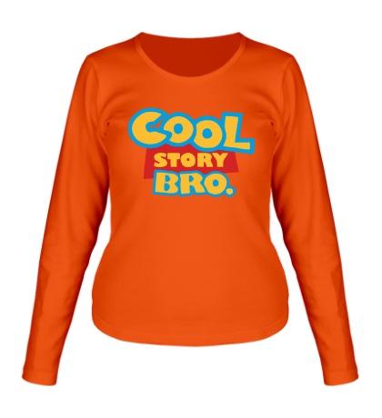 Женский лонгслив Cool Story