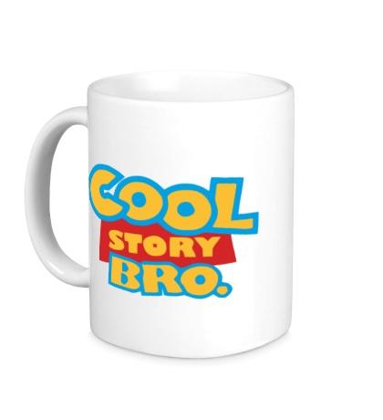 Керамическая кружка Cool Story