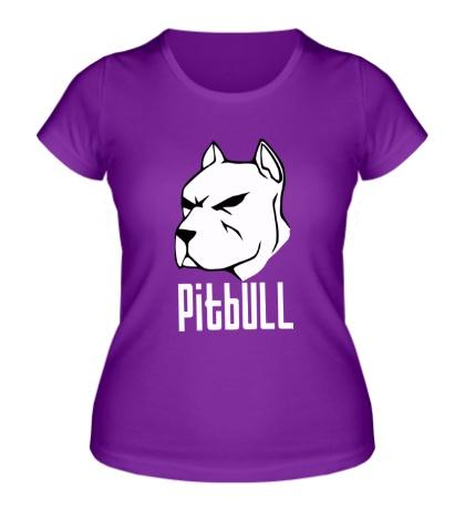 Женская футболка Pitbull