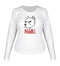 Женский лонгслив Pitbull