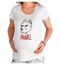 Футболка для беременной Pitbull