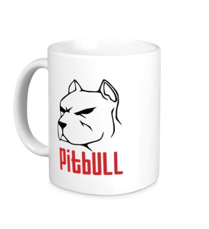 Керамическая кружка Pitbull