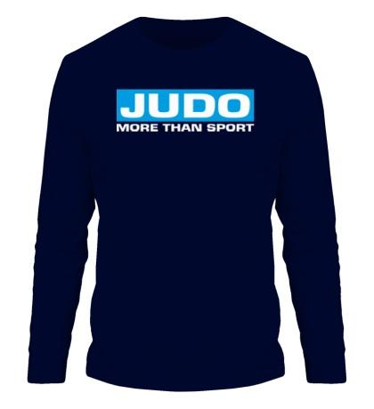 Мужской лонгслив Judo more then sport