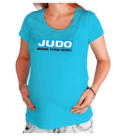 Футболка для беременной Judo more then sport