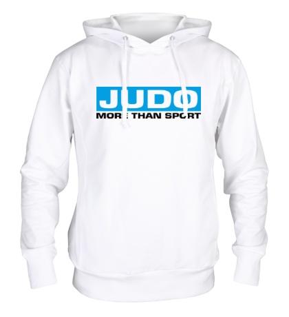 Толстовка с капюшоном Judo more then sport