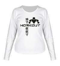 Женский лонгслив Street Workout Logo