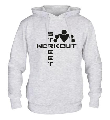 Толстовка с капюшоном Street Workout Logo