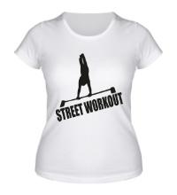 Женская футболка Street Workout