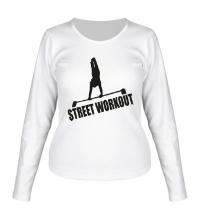 Женский лонгслив Street Workout
