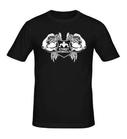 Мужская футболка Workout Angel