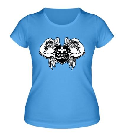 Женская футболка Workout Angel